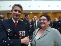 Cérémonie d'adieu aux armes du Général DELPONT le 27 juin 2013