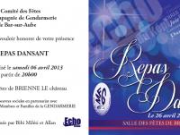 Comité des fêtes de Bar Sur Aube manifestation du 06 avril 2013