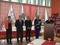 La Creuse - Prise de commandement du Lieutenant-Colonel DAUTRIX nouveau commandant de groupement
