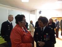 L'AAMFG conviée à la cérémonie de prise de commandement de l'EOGN à Melun, le 9 septembre 2015 du général Isabelle Guion de Meritens