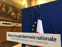 L\'AAMFG conviée aux Voeux à la gendarmerie nationale Hôtel National des Invalides, Jeudi 09 janvier 2020