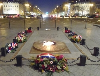 Le 16 février 2015 L'AAMFG conviée à la cérémonie nationale d'hommage aux personnels de la gendarmerie
