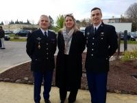 Le 16 février 2018 – L'AAMFG conviée à la cérémonie d'hommage aux personnels de la gendarmerie à Montpellier