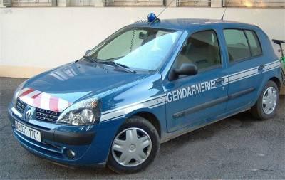 Villette D Anthon Le Vehicule De Gendarmerie Prend Feu Aamfg