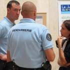 Gendarme blessé - Tribunal