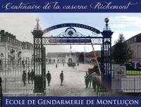 Cérémonie à l'occasion du centenaire de la caserne Richement de Montluçon le vendredi 13 septembre 2013.