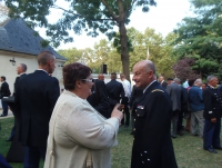 Le 30 août 2016 L'AAMFG conviée à l'adieu aux armes du général d'armée Denis Favier, directeur général de la gendarmerie nationale.